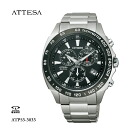 CITIZEN citizen ATTESA eco-drive in atessa radio clock ATP53-3033fs3gm