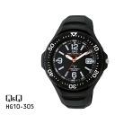 Advantageous article Citizen citizen Q&Q analog solar radio time signal HG10-305 watch