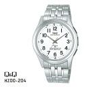 ◆Advantageous article ◆ Citizen citizen CBM Q&Q radio time signal analog standard HZ00-204upup7