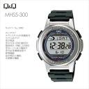 CITIZEN citizen Q & Q solar radio watch wristwatch MHS5-300