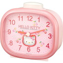 CITIZEN citizen rhythm clock clock Hello Kitty HELLO KITTY alarm clock alarm clock 4RA418MJ13fs3gm