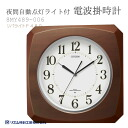 Rhythm CITIZEN citizen automatic lights light with radio clock radio clock clock clock リバライト F489 8MY489-006upup7 night