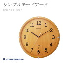 CITIZEN citizen rhythm clock clock simple mode Karen 8MYA14-007