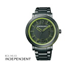 Citizen citizen INDEPENDENT independence Timeless line thyme Les Line neon color BC3-145-53 men watch