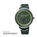 Citizen citizen INDEPENDENT independence neon color BC3-242-53 unisex man and woman combined use watch