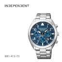 CITIZEN citizen INDEPENDENT independent BR1-412-73 mens watch points-up