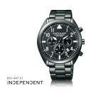 Citizen citizen INDEPENDENT independence chronograph series BR1-447-51 men watch