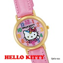It is good to a present! Hello kitty watch HELLO KITTY WATCH casual watch citizen Q&Q Q563-433upup7