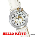 It is good to a present! Hello kitty watch HELLO KITTY WATCH casual watch citizen Q&Q VW23-131upup7