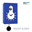 Italian handmade design clock cuckoo clock cuckoo clock totally P-116-BLUE NIGHT & DAY fs3gm made in the wall clock Pirondini (pyrone Dini) company which is art