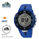 CASIO Casio PRO TREK proto Lec triple sensor Ver.3 PRW-3000-2BJF men watch fs04gm