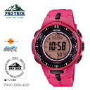 CASIO Casio PRO TREK proto Lec triple sensor Ver.3 PRW-3000-4BJF men watch fs04gm