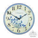 영국 발! Roger Lascelles (로저 러셀) 시계 클래식 풍의 플라워 시계 RL-PUB-BLUEBELLS 블루 벨 손잡이 02P01Mar15