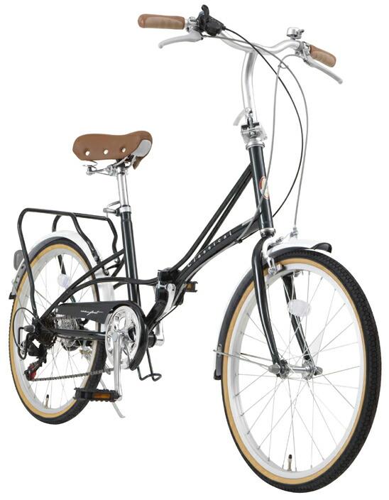 激安 自転車 送料無料 TOPONE トップワン 20インチ折りたたみ自転車 カゴ・カギ・ライトセット シマノ6段変速ギア FBC206DG ダークグリーン