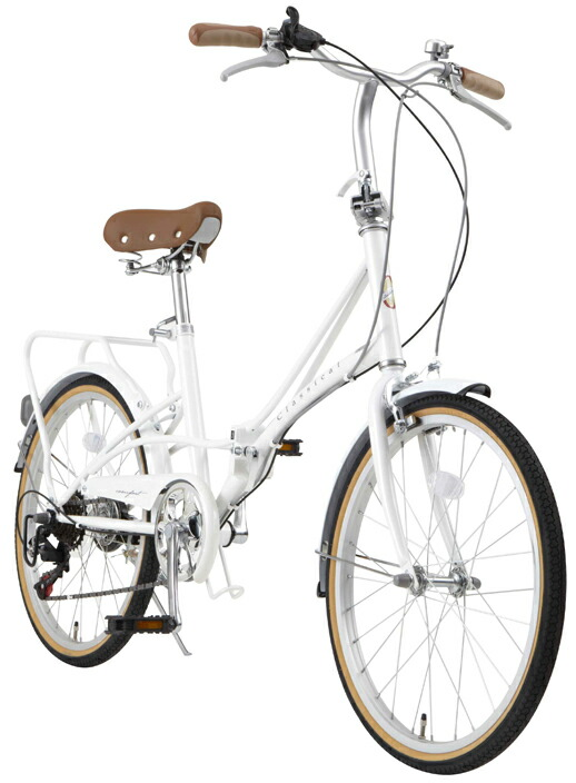 折りたたみ自転車 20インチ 送料無料 カゴ・カギ・ライトセット シマノ6段変速ギア FBC206 TOPONE トップワン 激安 特価
