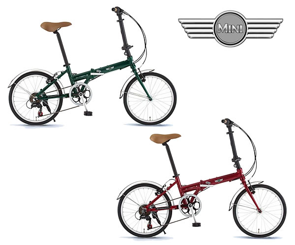 自転車の ミニ自転車カゴ : MINI (ミニ) 20インチ 折りたたみ ...