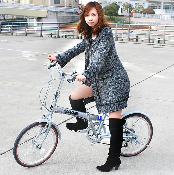 自転車の otomo 自転車 : 20インチ 折りたたみ自転車 ...