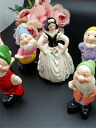 Small people stock disposal size special price of antique finish Snow White and seven people made in Portugal☆