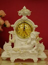 White and gold Angel House ☆ clocks ♪ new color new!