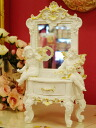 5000 Yen though ♪ new colors in stock now we have white and gold finish Rococo-style Angel miniature Dresser