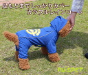 (2XL-4XL size) one co-clothes dog clothes dogware 《》 for - bawtie out of the colorful raincoat / blue