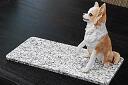 PetSmart pet ( Wed ) feels good! 20 cm × 40 cm high grade white granite ルナパール.