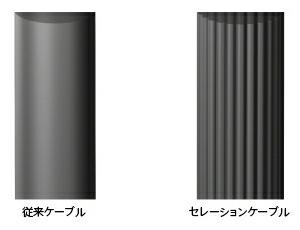 MDR-Z7はセレーションケーブル採用により絡みにくい構造になっています。