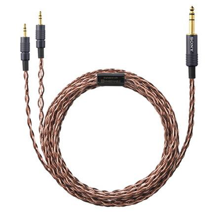 MDR-Z7は高音質なKINBERケーブルでハイレゾ音源にも対応。
