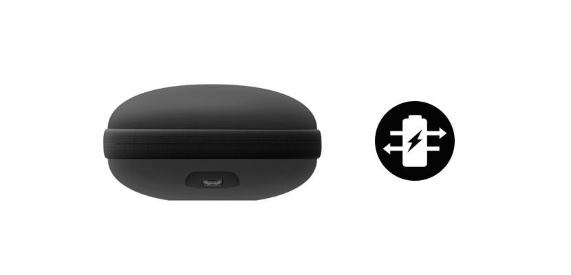 モバイルバッテリー搭載 ワイヤレスイヤホンの充電に最適なイヤホンケース