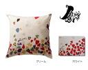 Nishikawa Plune. Cushion cover 45 × 45 PL107 (hand-painted heart)