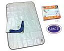 "Aluminium sheet ' space warm sheets and Premium S 2 pieces "", single"
