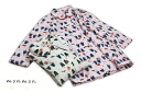 Ladies ' long-sleeved robe PYJAMA monmon quilt 1-43706