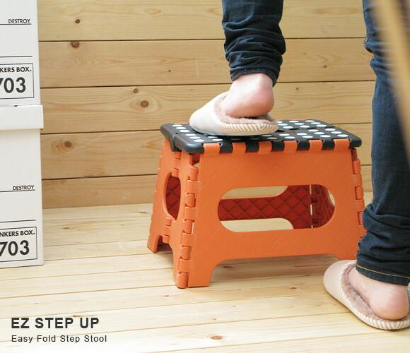 E Goods 라쿠텐 일본 Ez스텝 업 Ez Step Up 발판 Folding Stool 접이식