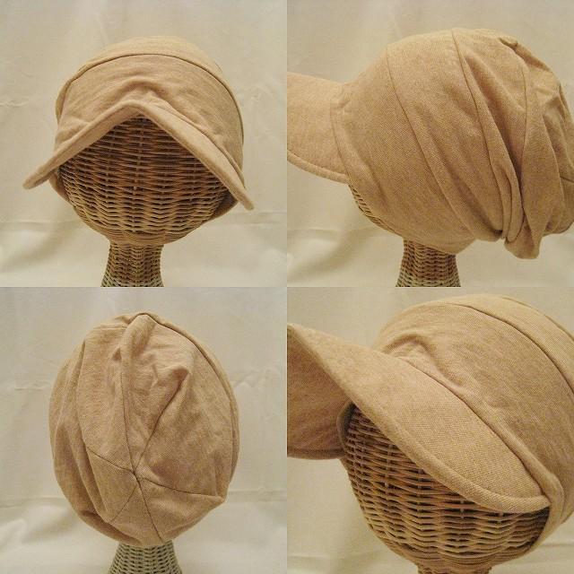 ゆるい帽子・ヘアバンド CasualBox - ツバ付き帽 …