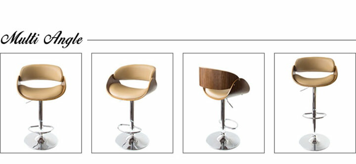 【カウンターチェア椅子イス高さ調節背付きハイチェアバーチェア】 <br><br><img src=