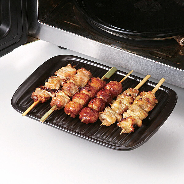 電子レンジ、オーブントースター、カセットコンロ、ガスコンロ、グリルで加熱調理が出来るセラミックス製プレート