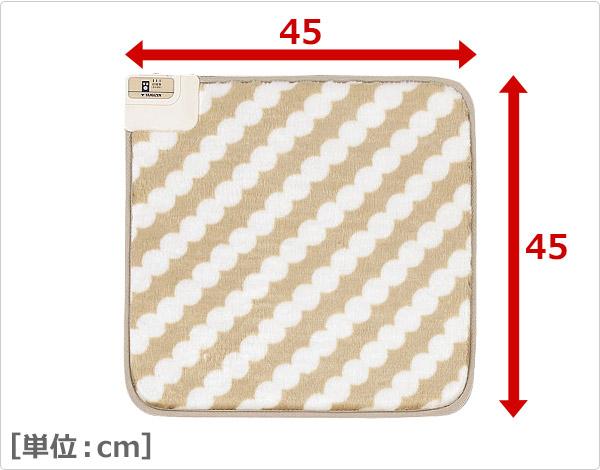 ミニマット(45角)ホットカーペット