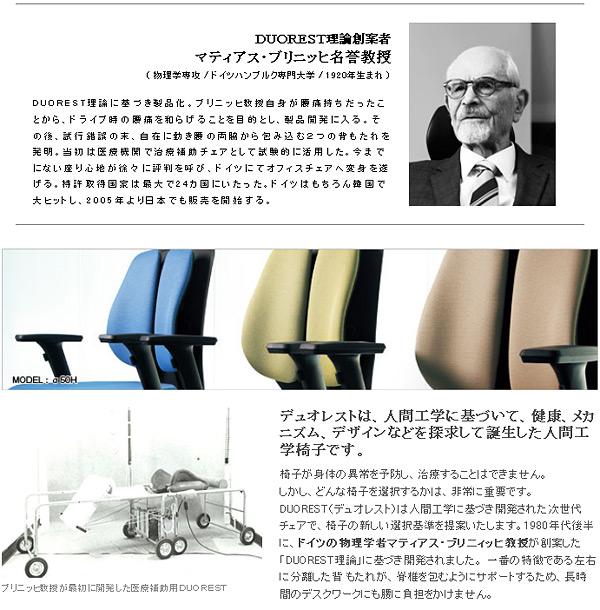 人間工学に基づいて誕生した椅子