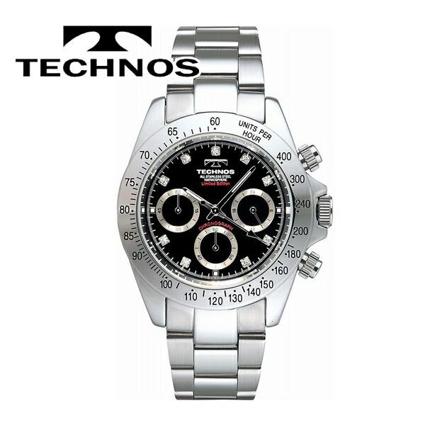 TECHNOS(テクノス) RONDA社ムーブ搭載 腕時計