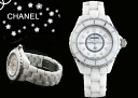 CHANEL Chanel watches J12 white ceramic mother of Pearl H2422 ladies