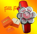 Folli Follie フォリフォリウォッチ 098/01 red Lady's