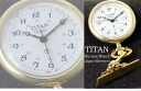 918 TITAN nurse watch gold / white