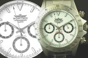 MONTRES Montres Chronograph Watch 68199 white mens