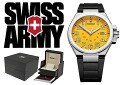VICTORINOX Victorinox SWISS ARMY watch 241164 yellow / black men's