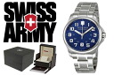VICTORINOX fish basket avian Knox SWISS ARMY watch 241360 blue men