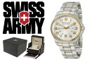 241362 VICTORINOX fish basket avian Knox SWISS ARMY watch combination silver men