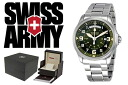 VICTORINOX Victorinox SWISS ARMY watch 241374 green mens