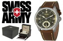 VICTORINOX fish basket avian Knox SWISS ARMY watch 241376 green X brown men