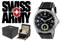 VICTORINOX Victorinox SWISS ARMY watch 241377 black mens