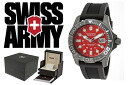 VICTORINOX Victorinox SWISS ARMY watch 241427 red × black mens